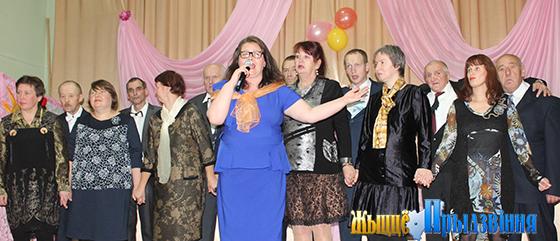 """На снимке: участники студии вокально-хорового пения """"Вясёлка""""."""
