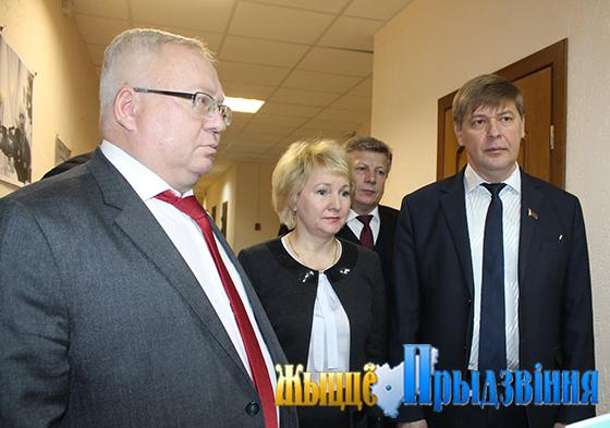 В Витебском районе прошло расширенное заседание президиума районного Совета депутатов