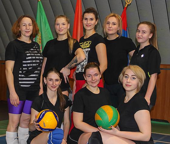 На базе ФСК «Урожай» в аг. Новка прошел открытый районный турнир по волейболу среди женских команд