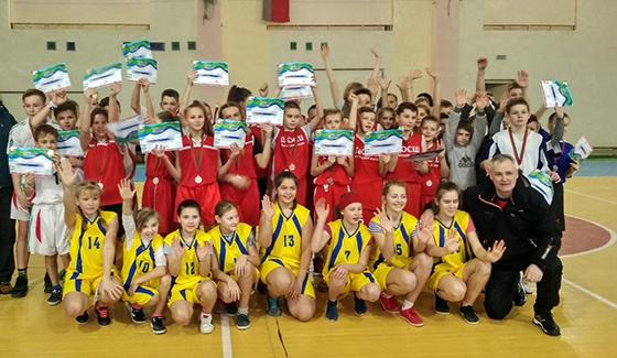 Юные баскетболисты разыграли первенство Витебского района