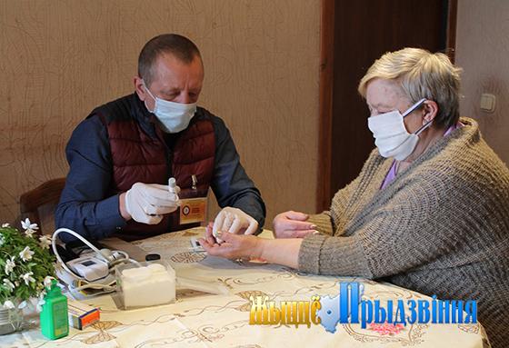 ТЦСОН Витебского района и кафедра медицинской реабилитации и физической культуры ВГМУ протянули «Руку помощи» людям пожилого возраста