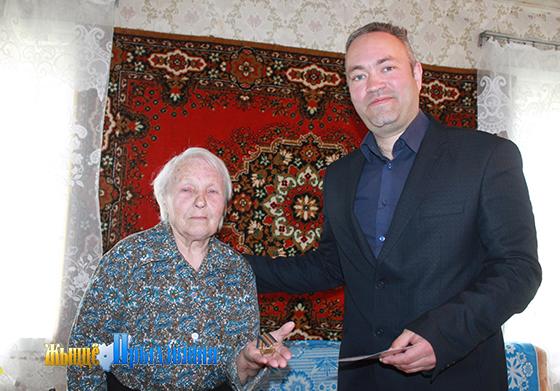 В Новкинском сельсовете Витебского района юбилейные медали получили 16 бывших узников концлагерей