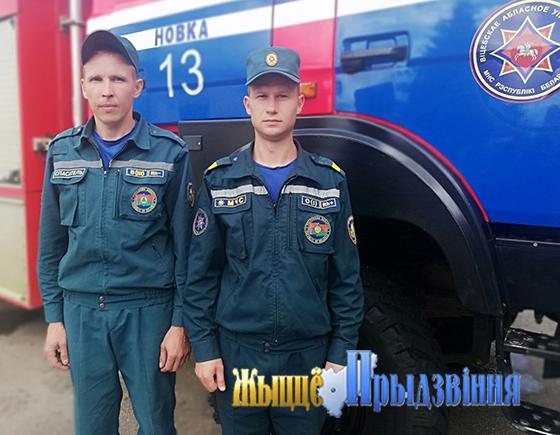 На снимке: Дмитрий Герко и Руслан Мельников.
