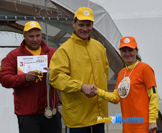 Любительское первенство по велоспорту среди работников бройлерной птицефабрики прошло в Витебском районе
