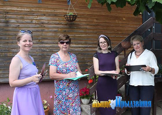 Смотр-конкурс на лучшее частное подворье «Мой любимый двор» прошел в агрогородке Копти Витебского района