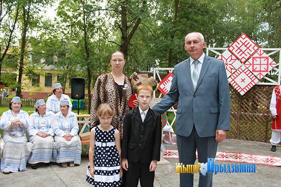 Дзень вышыванкі прайшоў у Віцебскім районе