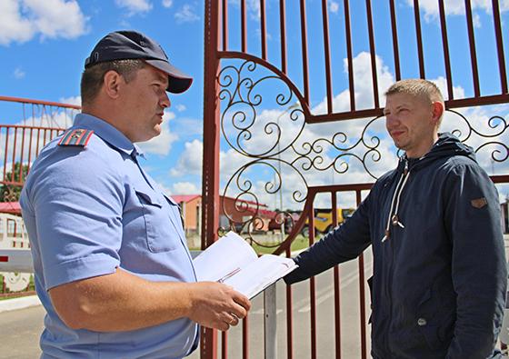 На снимке:  Олег Михайлов и Борис Мосин.