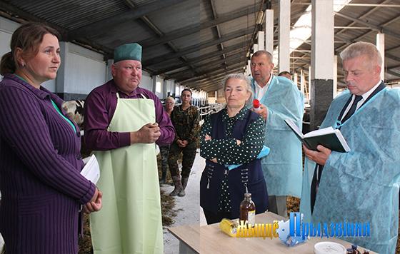 Участники коллегии управления по сельскому хозяйству и продовольствию райисполкома посетили УП «Рудаково» Витебского района