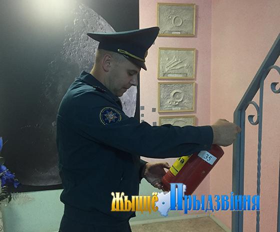 Инспекцией надзора и профилактики Витебского РОЧС проведены мониторинги состояния пожарной безопасности в районных школах