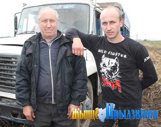 Водители Виктор и Александр Черногузовы — один из многих примеров трудовых династий в Витебском районе