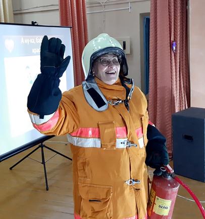 Конкурс среди граждан пенсионного возраста по основам безопасности жизнедеятельности под таким названием стал еще одним ярким событием в Витебском районе