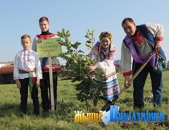 Победители республиканского сельскохозяйственного проекта «Властелин села» разных лет заложили «Семейную аллею» в городе Витебск