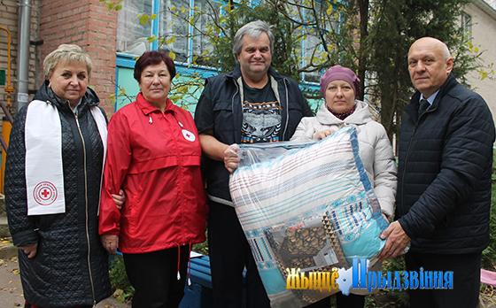 Кампанія «Ваша дапамога» стартавала ў Віцескім раёне пад эгідай Беларускага Чырвонага Крыжа